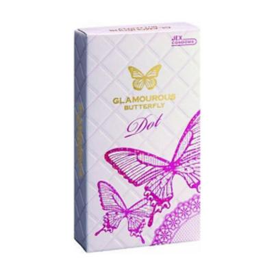 Cửa hàng bán  Hộp bao cao su Glamcurous Butterfly Dot 8 chiếc